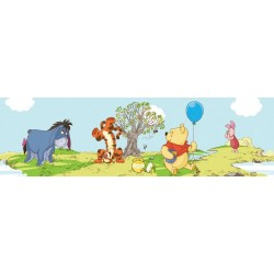 Pooh Bother Free Day Blue Border