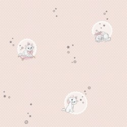 Aristocats Pink Wallpaper