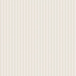 Classic Stripe Cream Wallpaper