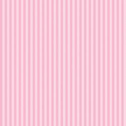 Classic Stripe Blossom Pink Wallpaper