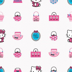 Hello Kitty Fashion Pink Wallpaper