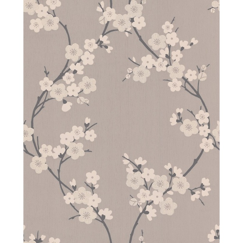 black wallpaper modern wallpaper cherry blossom wallpaper direct. Black Bedroom Furniture Sets. Home Design Ideas