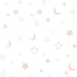 Pooh Goodnight Grey Wallpaper