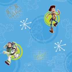 Toy Story 3 Blue Wallpaper