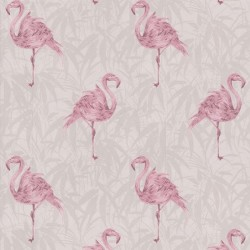 Flamingo Pink Wallpaper