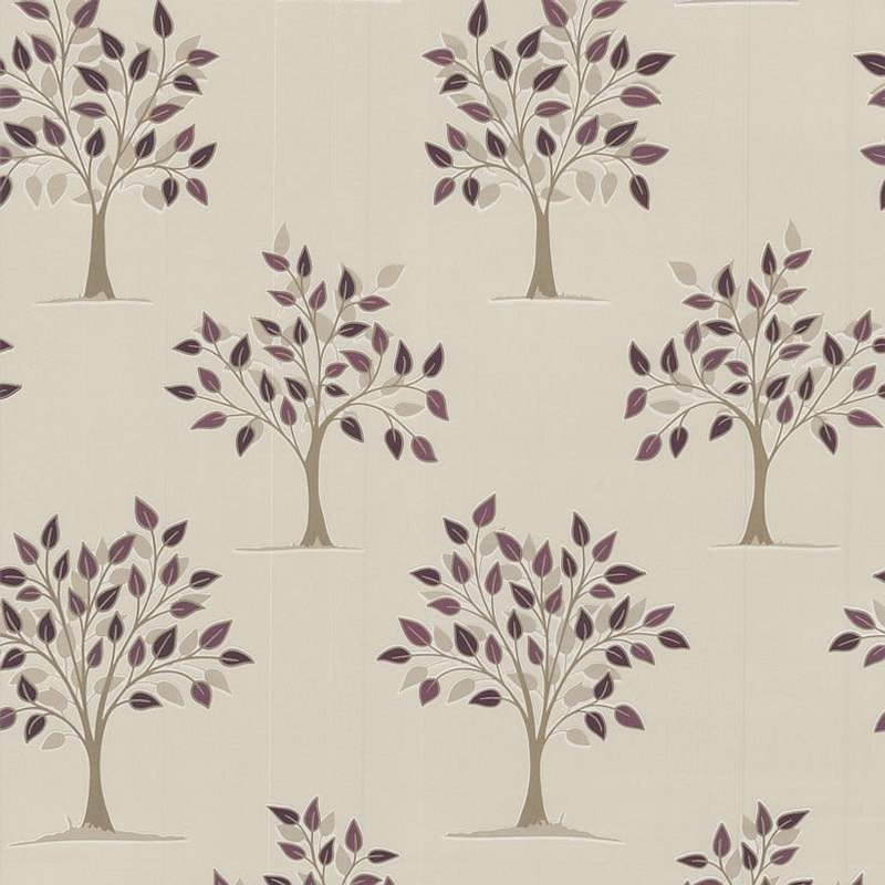 Willow purple wallpaper purple wallpaper kitchen wallpaper for Purple kitchen wallpaper