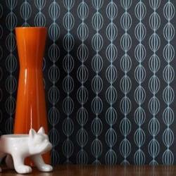 perle wallpaper white wallpaper graham brown retro wallpaper. Black Bedroom Furniture Sets. Home Design Ideas