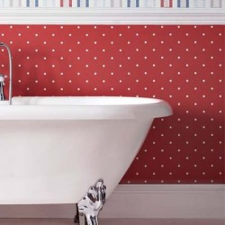 Dotty Red Wallpaper
