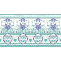Lace Green Border