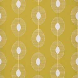 Dewdrops Citron Yellow Wallpaper
