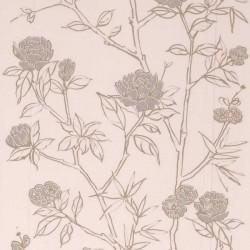 Hua Cream Wallpaper