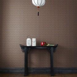 Juan Charcoal/Bronze Wallpaper