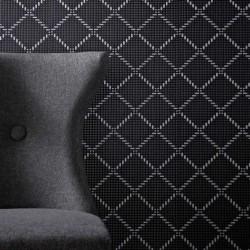 Quantum Black & Silver Wallpaper