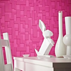 Checker Pink Wallpaper