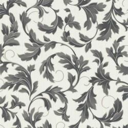 Charmed White & Black & Grey Wallpaper