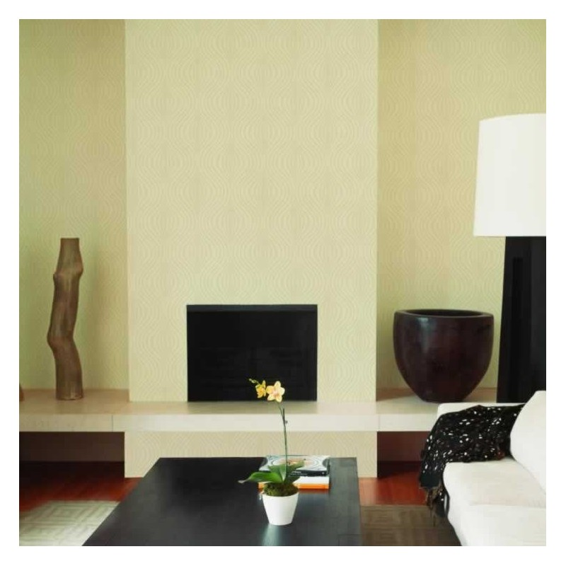 Zara beige wallpaper graham brown zara beige 31 585 for Wallpaper zara home
