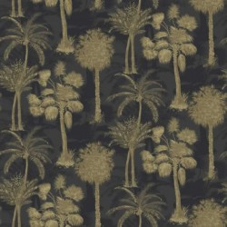 Coconut Grove Nightshade Wallpaper
