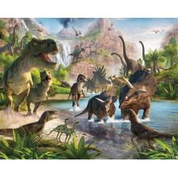 Walltastic Dinosaur Land Mural