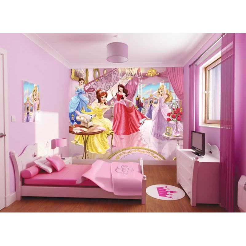Delightful Walltastic Fairy Princess Mural; Walltastic Fairy Princess Mural