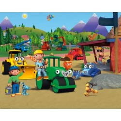 Walltastic Bob the Builder Mural