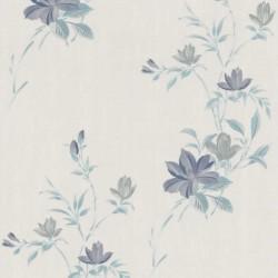Reed Blue Wallpaper
