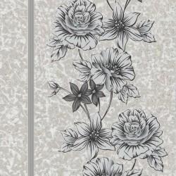 Clancy Grey & Black Wallpaper