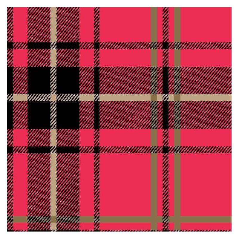 Brodie omgr07106 wallpaper red tartan flock wallpaper for Tartan wallpaper next