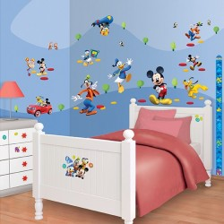 Walltastic Disney Mickey Mouse Clubhouse Room Décor Kit