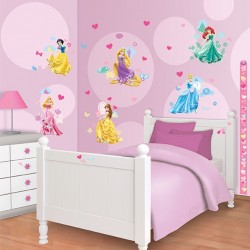Walltastic Disney Princess Room Décor Kit
