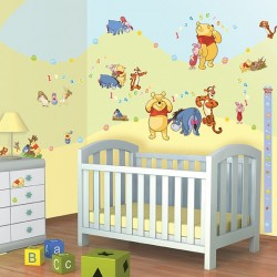 Walltastic Disney Winnie the Pooh Room Décor Kit