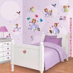 Walltastic Disney Sofia the First Room Décor Kit