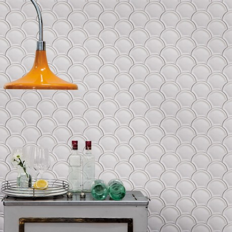 Scales Tiles Wallpaper