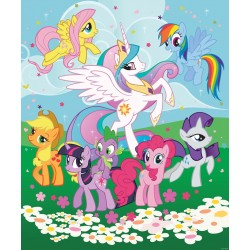 Walltastic My Little Pony Friendship is Magic Mural