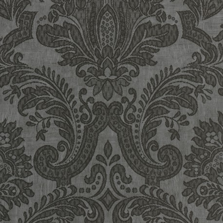 Equus black on dark grey 25006 for Gray and white wallpaper designs