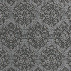 Otoman Silver & Black Wallpaper