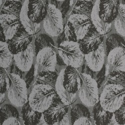 Glace Silver Grey & Black Wallpaper