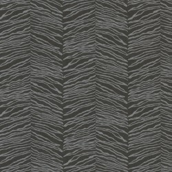 Esqueje Zebra Black & Silver Wallpaper