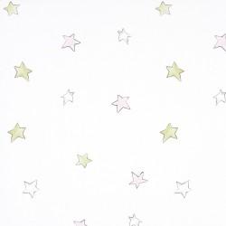 Odissey Stars Pink Wallpaper