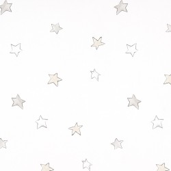 Odissey Stars Stone Grey Wallpaper