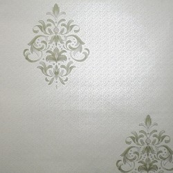Clemency Soft Green Wallpaper