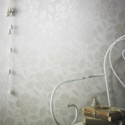Renee Pearl White Wallpaper