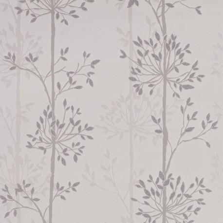 Domaniale Pearl White Wallpaper