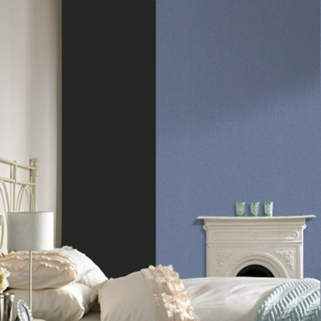 Calico Plain Blue Wallpaper
