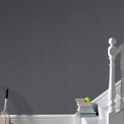 Calico Plain Charcoal Wallpaper