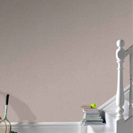 Calico Plain Cream Wallpaper