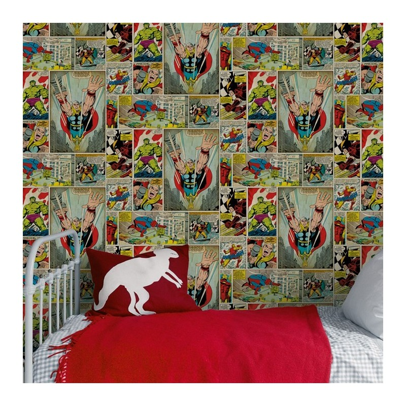 Bedroom Wallpaper Marvel