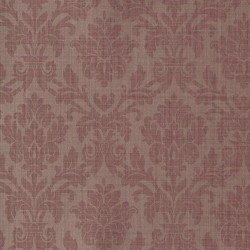 Beaune Red Damask Wallpaper