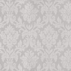 Beaune Argent Grey Damask Wallpaper