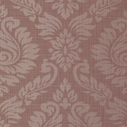 Magny Vintage Damask Red Wallpaper