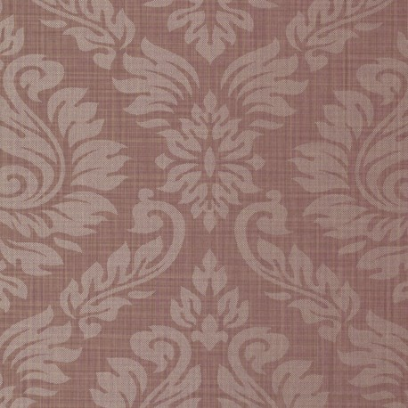 Magny Rouge Damask Wallpaper